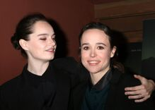 Ellen Page has the best reason not to worry about being typecast as lesbian