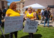 Anti-vaxx protestors say they're the next civil rights activists