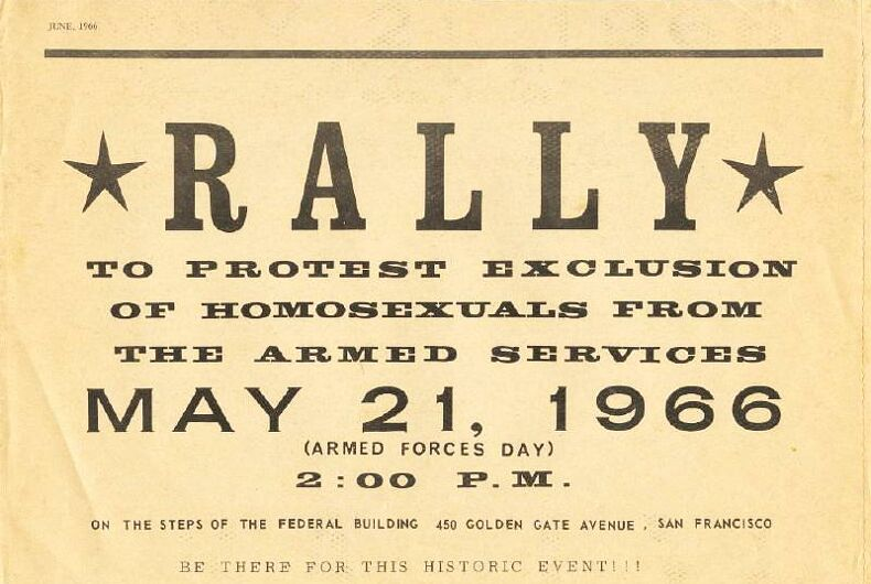 3 years before Stonewall, gay activists protested all over the country on same day