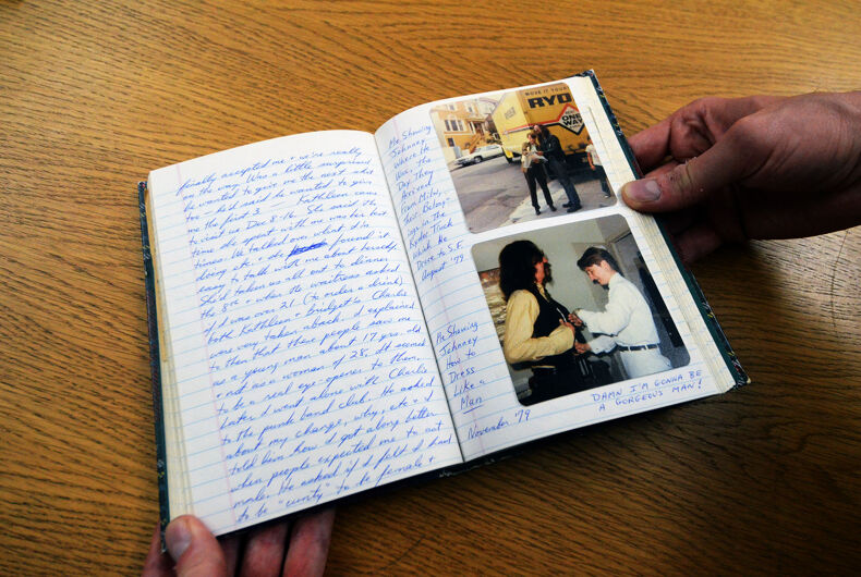 Diaries reveal hidden worlds for museum and showcase trans activist Lou Sullivan's diaries from 40 years ago.