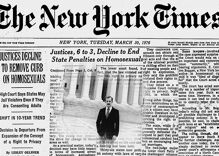 In 1976, the Supreme Court slapped down a sodomy law challenge with just four words