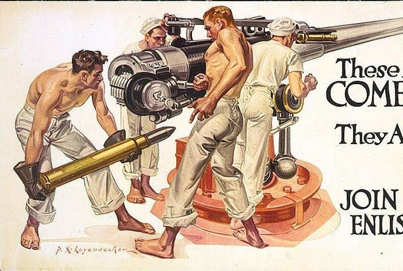 Frank Leyendecker WWI recruiting poster