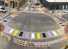 The Trump administration told a town to remove its rainbow crosswalks. The town said no.