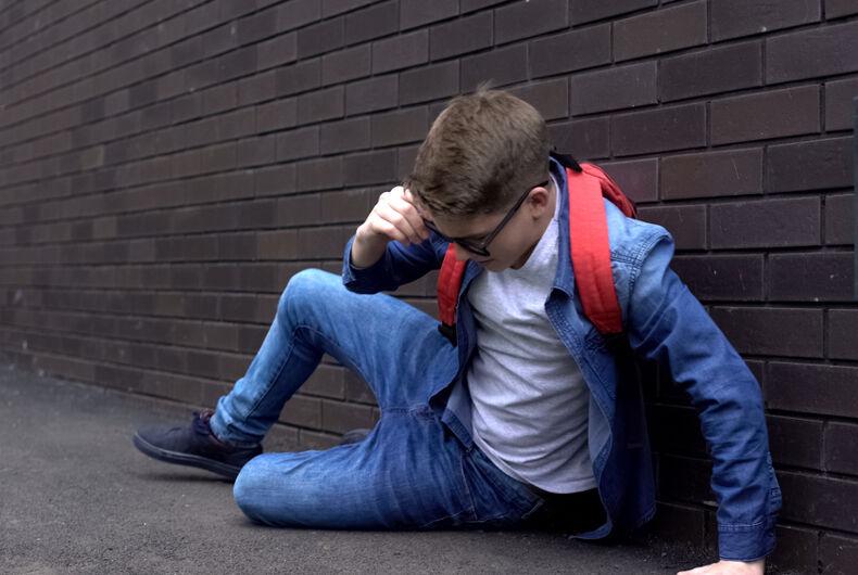 A bullied child