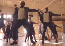 Gay newlyweds slayed an unforgettable flash mob dance & went viral