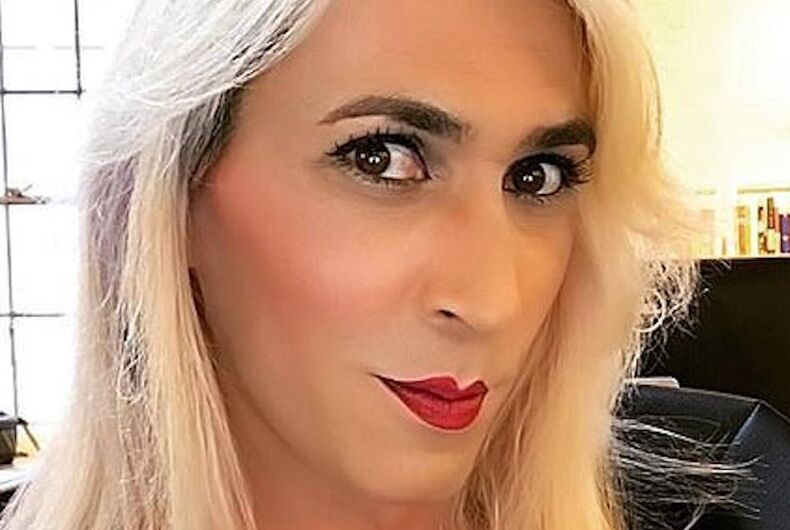 Daphne Dorman is a blonde transwoman and comedian.