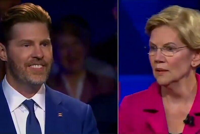 Elizabeth Warren's mic drop