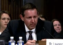 Trump nominee starts bawling when questioned about anti-LGBTQ record