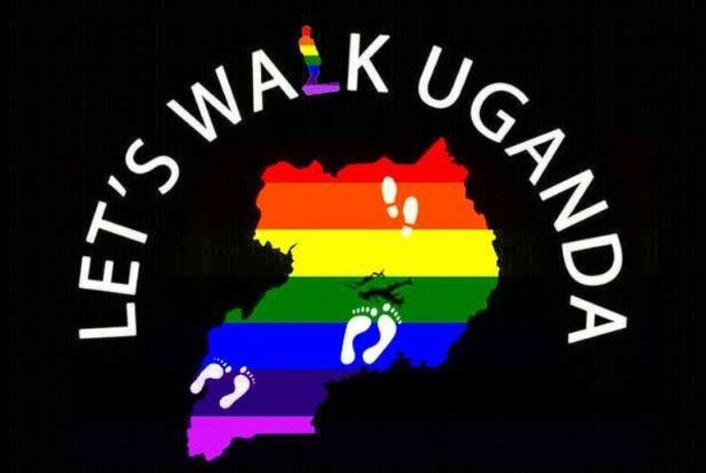 Let's Walk Uganda logo