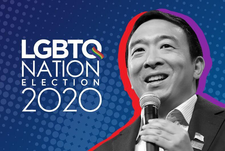 Andrew Yang LGBTQ Nation Election 2020