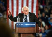 Bernie Sanders has been hospitalized for heart problems