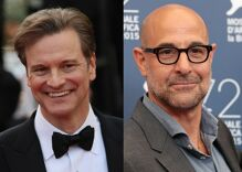 Colin Firth & Stanley Tucci star as a committed gay couple in an upcoming film