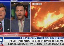 Tucker Carlson & gay rightwinger blame California wildfires on hiring LGBTQ people