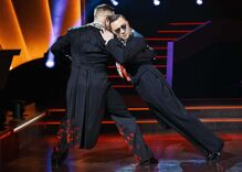 """The first male couple on Denmark's """"Dancing with the Stars"""" is stirring up controversy… & winning"""