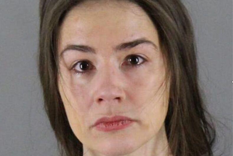 The filed mugshot of Danielle Stella.