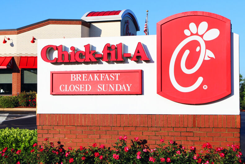 Fast food chain Chick-fil-A is owned by religious conservatives and closed on Sundays.