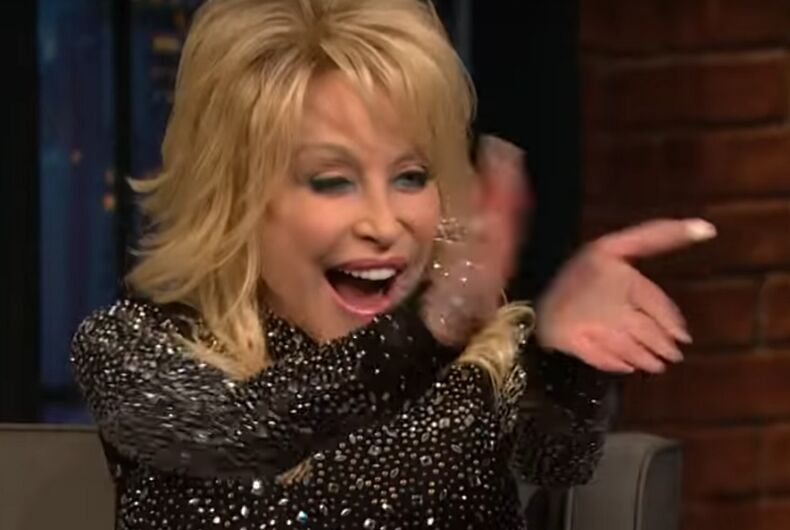 Dolly Parton on Late Night with Seth Meyers