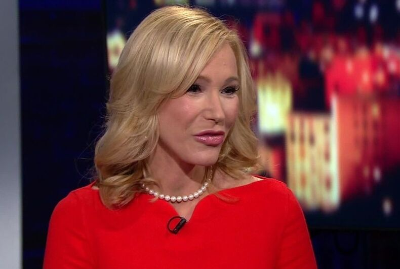 Paula White is a blonde white woman who serves as Trump's spiritual advisor
