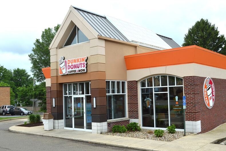A Dunkin' Donuts in Ohio.