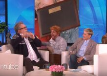 """Ellen scares gay-for-pay actor Eric Stonestreet with his """"TV husband"""""""