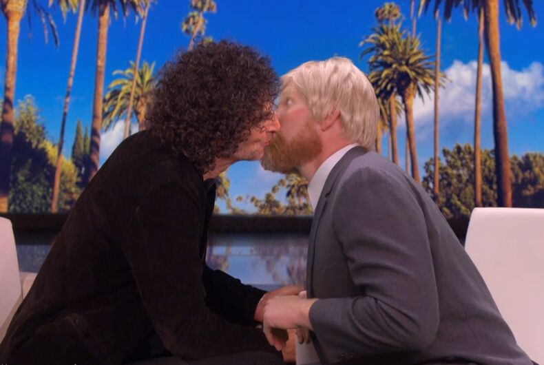 Howard Stern and body double Ross