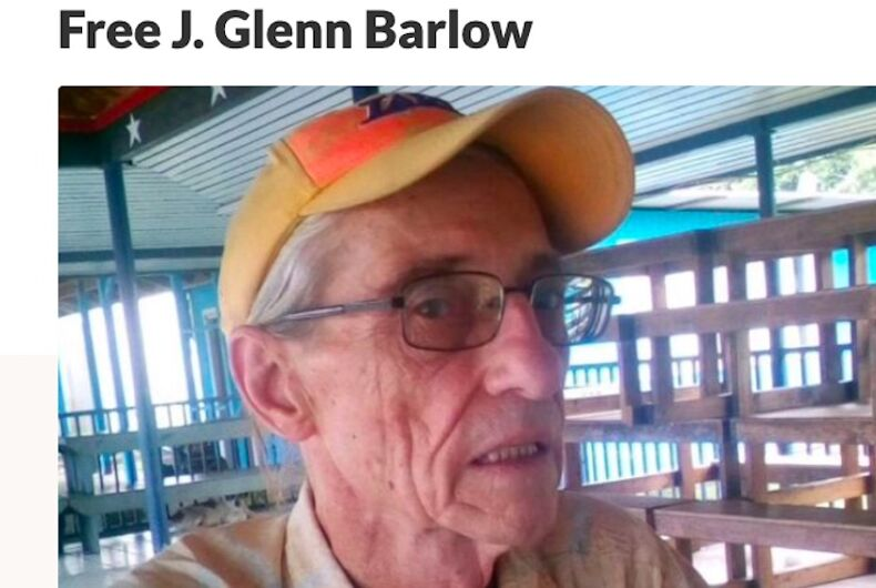 James Glenn Barlow is a 72-year-old man currently imprisoned in American Samoa