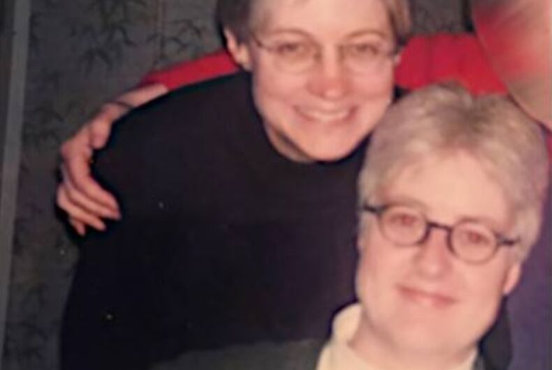 Helen Thornton and Marge Brown