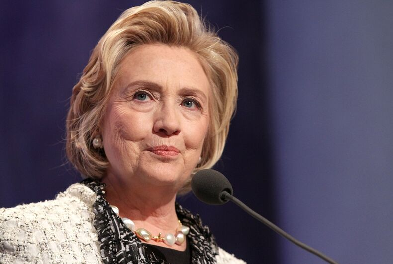 Hillary Clinton attends the Clinton Global Initiative Annual Meeting at The Shertaon New York Hotel on September 25, 2013 in New York City
