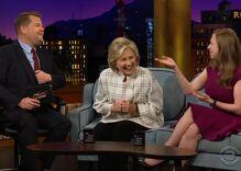 "Hillary Clinton makes fun of Donald Trump's ""alpha male impersonation"""