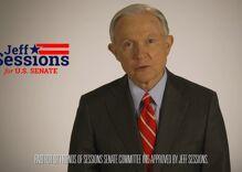 Republican Jeff Sessions grovels to Trump supporters in bizarre ad announcing Senate campaign