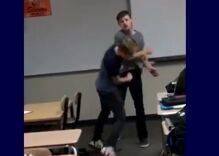 """Bullied gay teen punches his tormentor who called him a """"fa***t"""""""