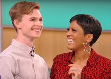 Gay teen who punched his bully in that viral video is leaving school