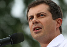 Buttigieg in first place in New Hampshire poll, making him the target in tonight's debate
