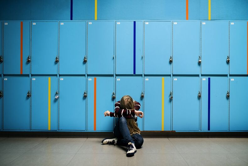 A tortured high school student
