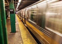 """A man was pushed onto subway tracks & called """"f****t"""" in a terrifying attack"""