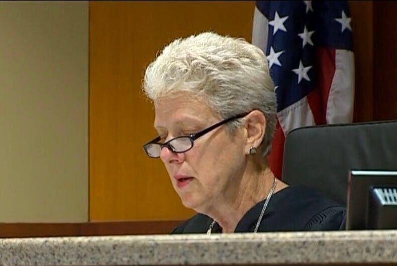 Judge Sara Smolenski, presiding over the 63rd District Court in Michigan.