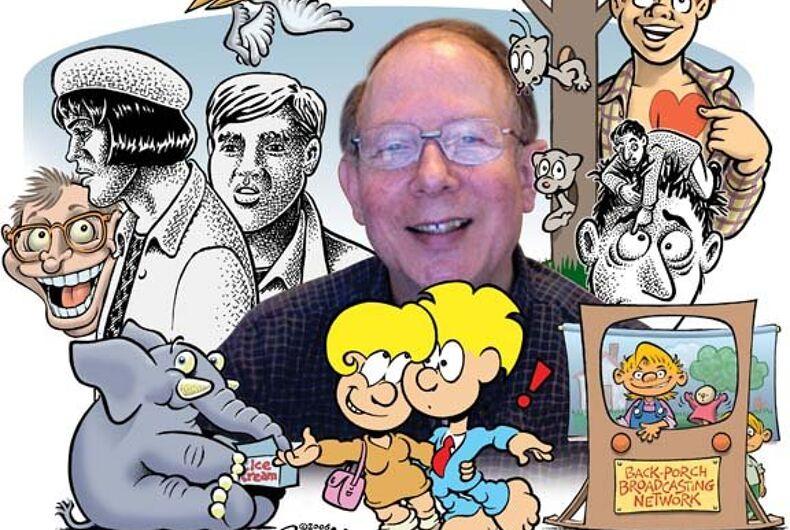 Pioneering cartoonist Howard Cruse