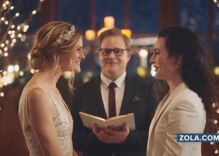 Hallmark Channel bows down to conservatives & drop Zola ads featuring lesbian brides
