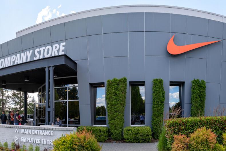Beaverton, Oregon - June 29, 2019 : Facade of Nike company store