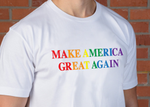 Donald Trump is selling a Pride T-shirt just in time for the holidays