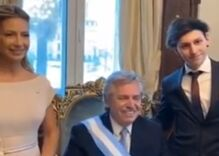 Gay son of Argentina's new president wore a rainbow flag for his dad's inauguration