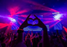 Celebrities partied at a three-day rave in Saudi Arabia where alcohol & being gay are illegal