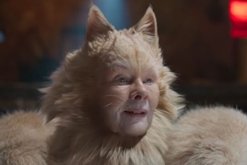 Judi Dench as Old Deuteronomy in the 2019 film adaptation of
