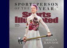 Lesbian soccer star Megan Rapinoe named Sports Illustrated Sportsperson of the Year