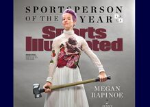 Lesbian soccer star Megan Rapinoe named Sports Illustrated Sportsperson of the Year