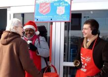 Pete Buttigieg has been ringing the bell for the Salvation Army