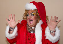 """Christian group goes ballistic over a Christmas drag show: """"An insult to the birth of Christ"""""""