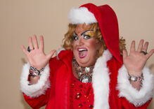 "Christian group goes ballistic over a Christmas drag show: ""An insult to the birth of Christ"""