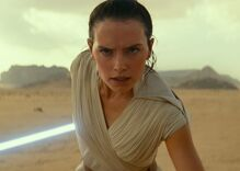 """Lesbian kiss in new """"Star Wars"""" movie makes history as first same-sex kiss in the series"""