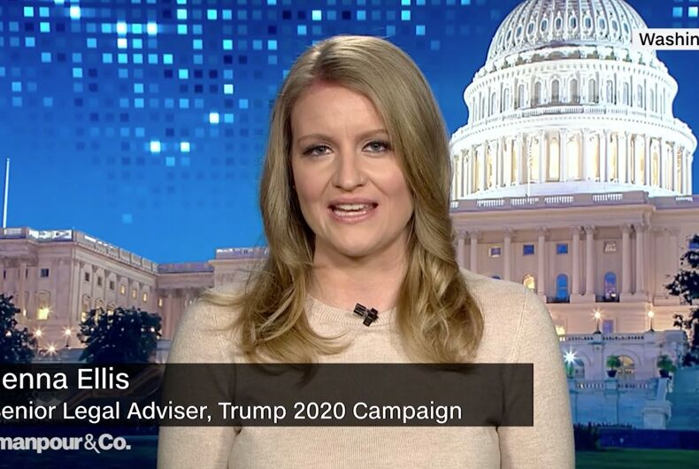 President Donald Trump's new campaign legal adviser is an anti-LGBTQ extremist